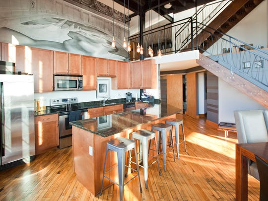 Inside the penthouse unit that sold for $531,313.