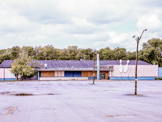 The former Madison Bowl at  517 Gallatin Pike N. in
