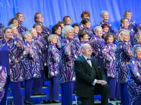Spirit of the Gulf, with Mike Slamka, its director, perform all season, but next week they're in Las Vegas, singing to win the world title. Submitted photo