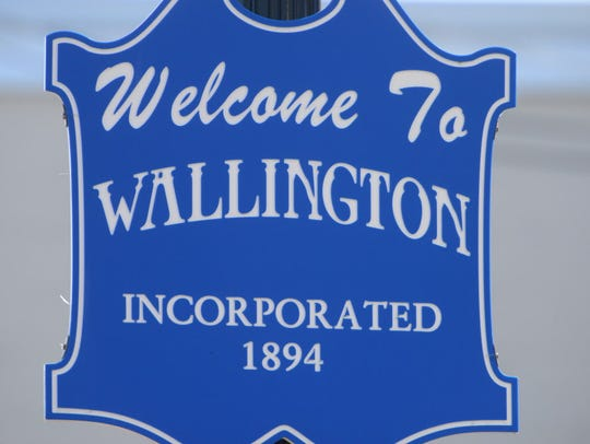Wallington Welcome sign