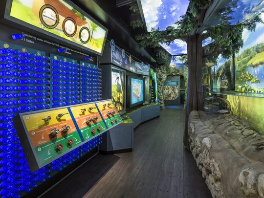 "The WaterVenture's FLorida Learning Lab will make a stop at J.N. ""Ding"" Darling National Wildlife Refuge, in Sanibel Island, on Dec. 3."