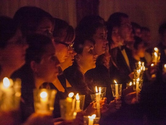 The tradition of the Christmas Vespers choral concert goes back many decades at Drury.