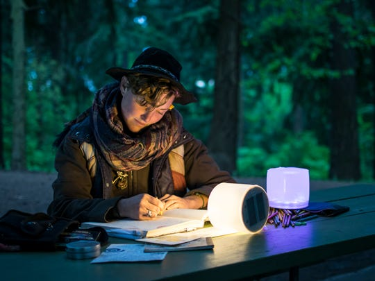 Luci Lux Inflatable Solar Lights are cool for camping, and a gift contender for the adventure traveler on your list.