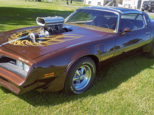 This 1977 Pontiac Firebird Trans Am is scheduled for auction at Barrett-Jackson Scottsdale on Tuesday, Jan. 17, 2017.
