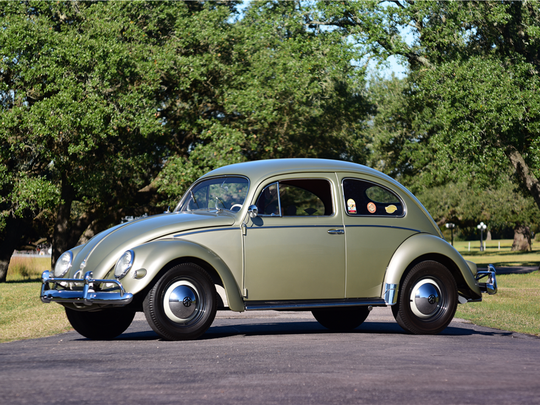 This 1956 Volkswagen Beetle is scheduled for auction at Barrett-Jackson Scottsdale on Tuesday, Jan. 17, 2017.