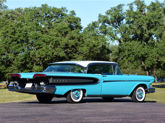 This 1958 Edsel Citation is scheduled for auction at Barrett-Jackson Scottsdale on Tuesday, Jan. 17, 2017.