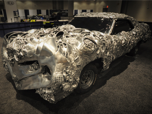 3-D-printed Ford Torino