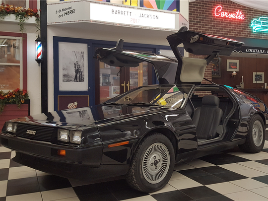 This 1981 Delorean DMC-12 is scheduled for auction at Barrett-Jackson Scottsdale on Wednesday, Jan. 18, 2017.