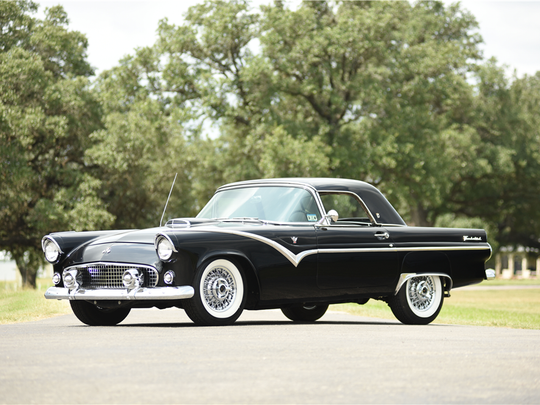 This 1955 Ford Thunderbird is scheduled for auction at Barrett-Jackson Scottsdale on Wednesday, Jan. 18, 2017.