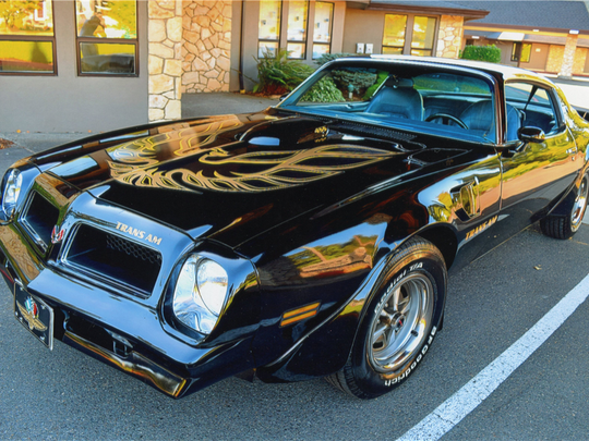 This 1976 Pontiac Firebird Trans Am is scheduled for auction at Barrett-Jackson Scottsdale on Wednesday, Jan. 18, 2017.