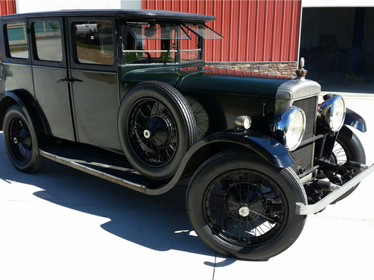 This 1929 Daimler sedan is scheduled for auction at Barrett-Jackson Scottsdale on Thursday, Jan. 19, 2017.