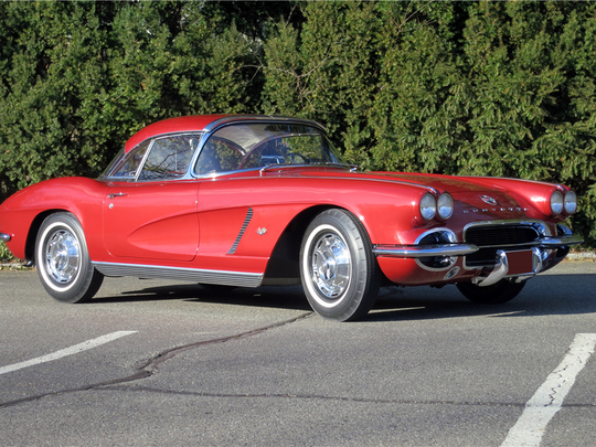 This 1962 Chevrolet Corvette is schedule for auction at Barrett-Jackson on Thursday, Jan. 19, 2017.