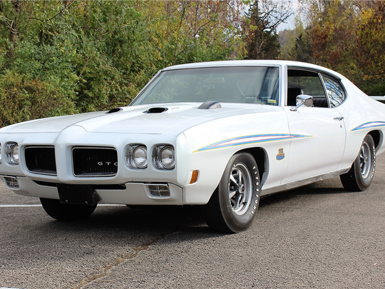 This 1970 Pontiac GTO Judge is scheduled for auction at Barrett-Jackson Scottsdale on Thursday, Jan. 19, 2017.