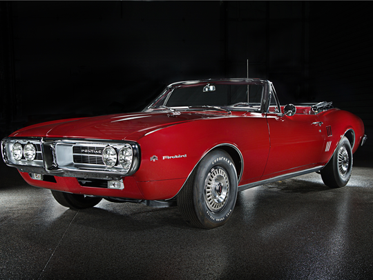 This 1967 Pontiac Firebird, the first ever produced,
