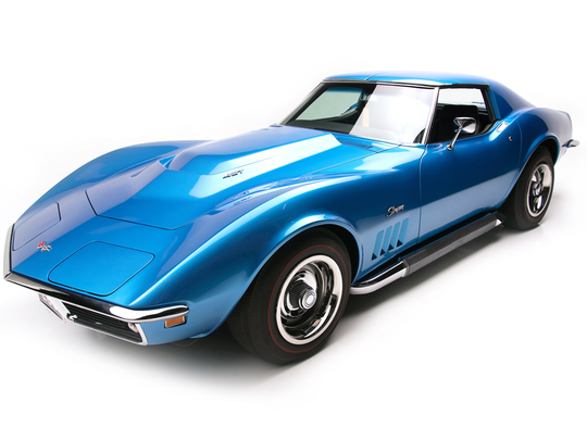 This 1969 Chevrolet Corvette L88 is scheduled for auction at Barrett-Jackson Scottsdale on Saturday, Jan. 21, 2017.