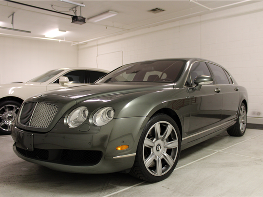 This 2006 Bentley Flying Spur is scheduled for auction