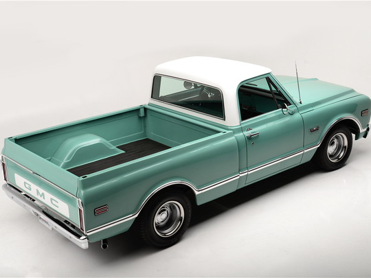 This 1968 GMC custom pickup is scheduled for auction