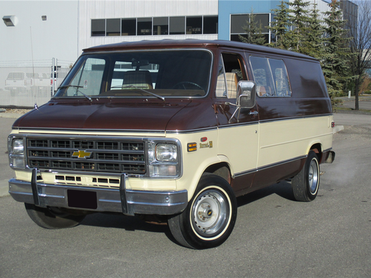 This 1979 Chevrolet Nomad van with only 217 miles is