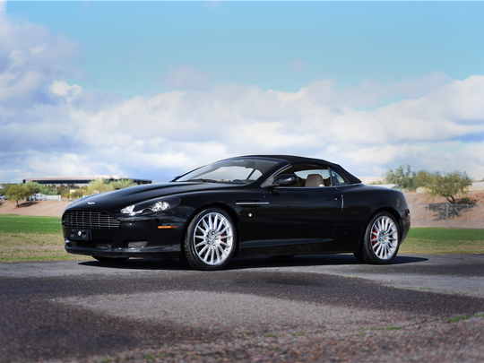 This 2006 Aston Martin DB9 Volante is scheduled for