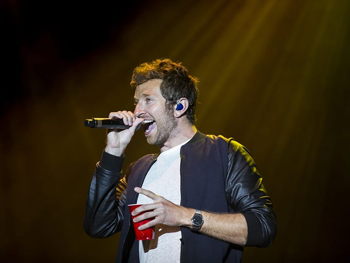 Brett Eldredge was a Country Thunder Arizona headliner