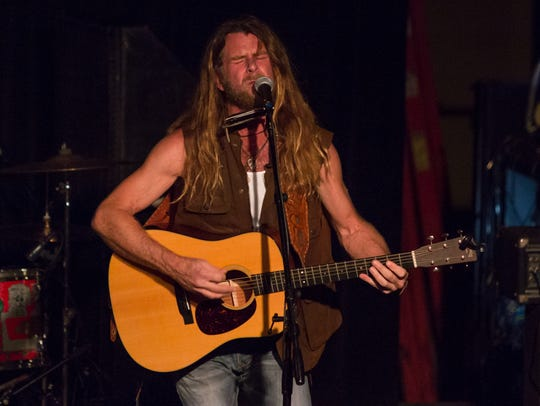 Grayson Capps opens for David Allan Coe at Vinyl Music