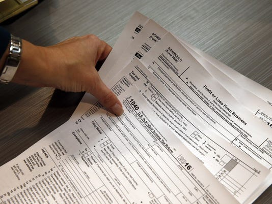 2016 federal tax forms