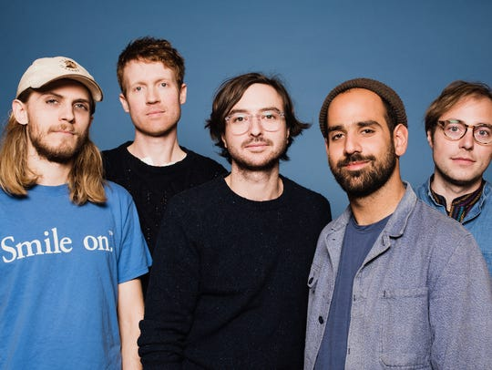 New Jersey band Real Estate takes the main stage Saturday
