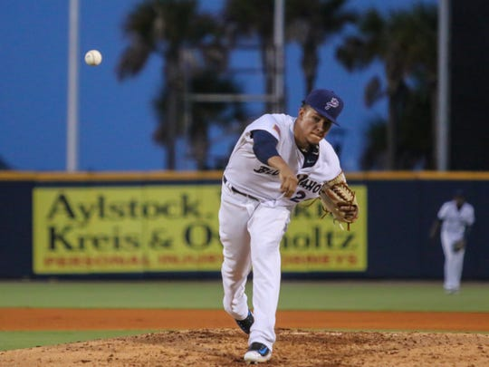 The Blue Wahoos'  Luis Castillo, part of a pitching staff that carried the team to a first half division crown, was called up to start for the Cincinnati Reds on Friday against the Washington Nationals, becoming the 44th Blue Wahoos player to reach the big leagues.