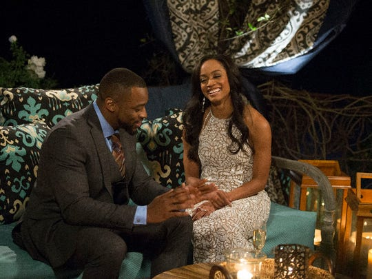 A sight you often see on the new 'Bachelorette': Rachel