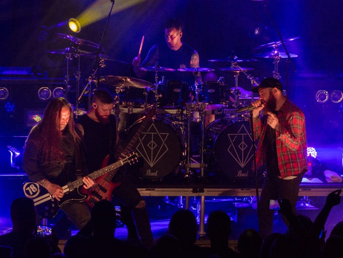 In Flames performs at Vinyl Music Hall on Monday, May