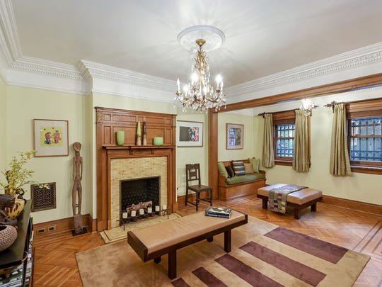 The home is located in the St. Nicholas Historic District, created in 1967 by the Landmarks Preservation Commission,