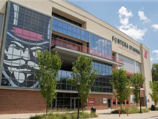 Austin Peay's Fortera Stadium.