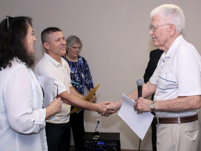 Al Bruner, vice president of the Pensacola District