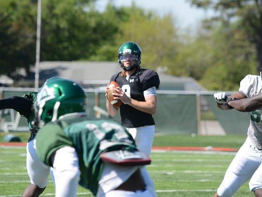 Former Missouri State quarterback Breck Ruddick is