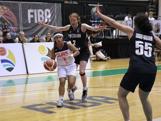 Team Guam's U17 ladies fell to a superior New Zealand