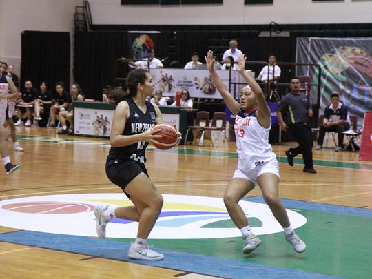 Team Guam's U17 ladies fell to a superior New Zealand squad that won 139-34 Monday, one in a series of hundred-point blowouts on opening night of the FIBA U17 Women's Oceania Championship 2017.