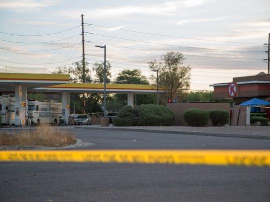 Phoenix police shoot, kill man on bicycle who shot at them