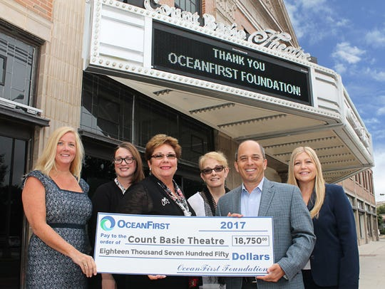 An $18,000 grant from the OceanFirst Foundation supports