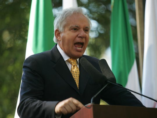 Former Sen. Robert Torricelli as seen in September