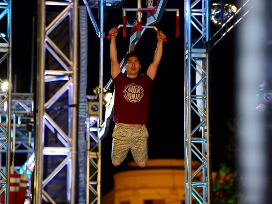 "Brandon Todacheenie, of Shiprock, nicknamed himself ""Navajo Ninja"" and appeared on Monday's episode of ""American Ninja Warrior."""