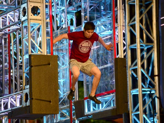 "This is the third year Shiprock resident Brandon Todacheenie competed in ""American Ninja Warrior."" His appearance in the Denver City Finals aired on Monday"
