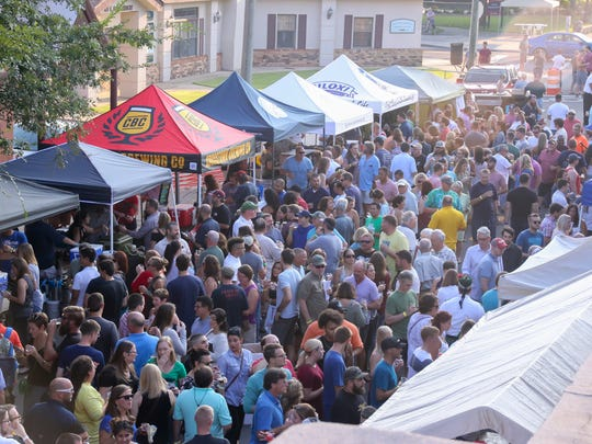 The annual Emerald Coast Beer Festival held inside and outside of Seville Quarter in downtown Pensacola is a popular event.