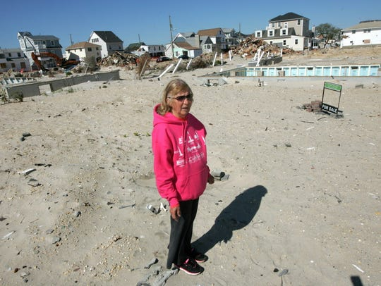 Joanne Boston lost her Fort Ave. home in Ortley Beach