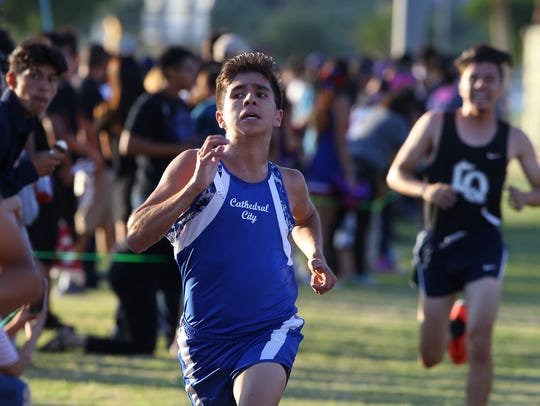 Desert Valley League cross country 2017 girls and boys
