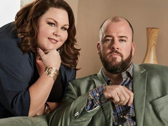 Chrissy Metz as Kate, Chris Sullivan as Toby.