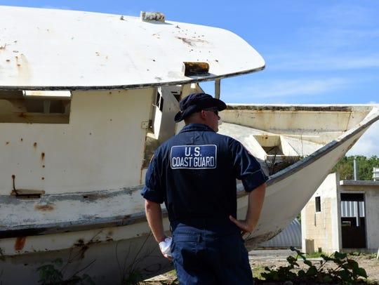 U.S. Coast Guard Petty Officer 1st Class Ryan Swartz,