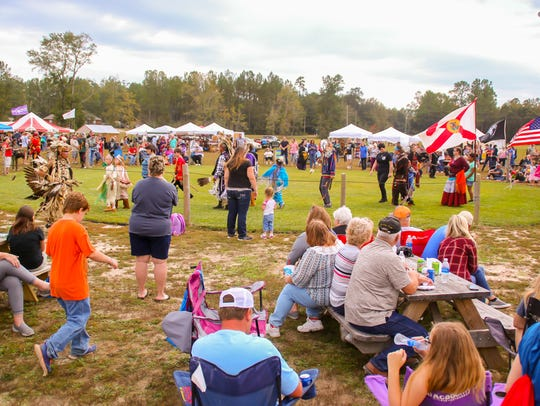 Hundreds of people enjoy the Santa Rosa County Creek