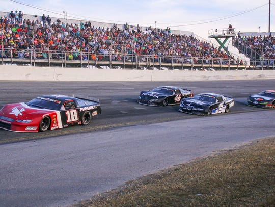 The 50th Snowball Derby at Five Flags Speedway on Sunday,