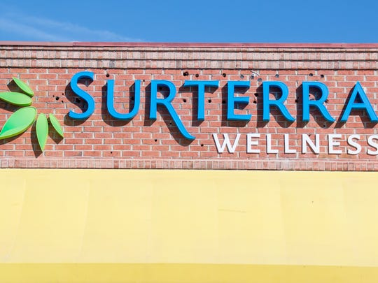 Surterra Wellness at 5046 Bayou Blvd. in Pensacola hosted a grand opening ceremony on Monday, Dec. 11, 2017. Surterra is one of just two local businesses in Pensacola licensed by the state to offer medical cannabis.