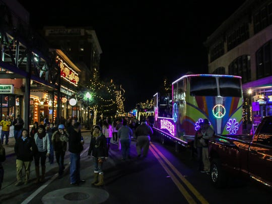 The 2018 Mardi Gras season gets underway during the annual Pensacola Mardi Gras Kickoff Celebration in downtown on Friday, January 5, 2018.